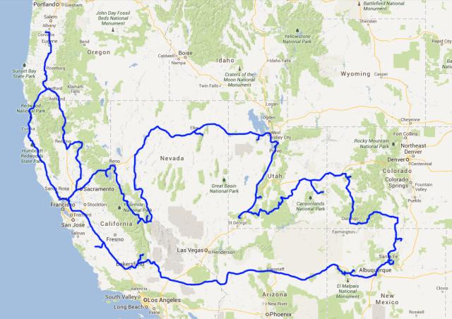 Big Loop Trip 2013