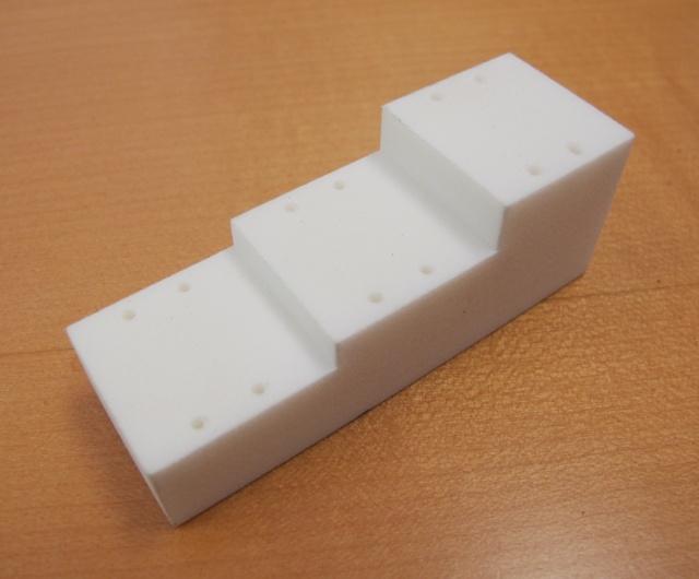 Custom-printed pinning block