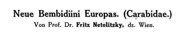 Netol. 1918 title
